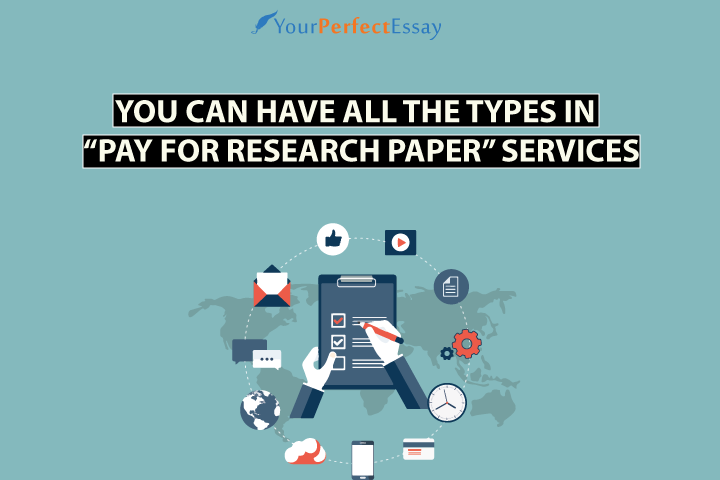Get all types of pay for research paper services